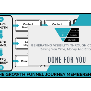 Growth Funnel Journey - Done For You
